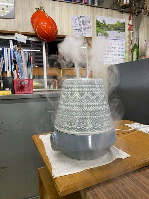 次亜塩素散水 加湿器