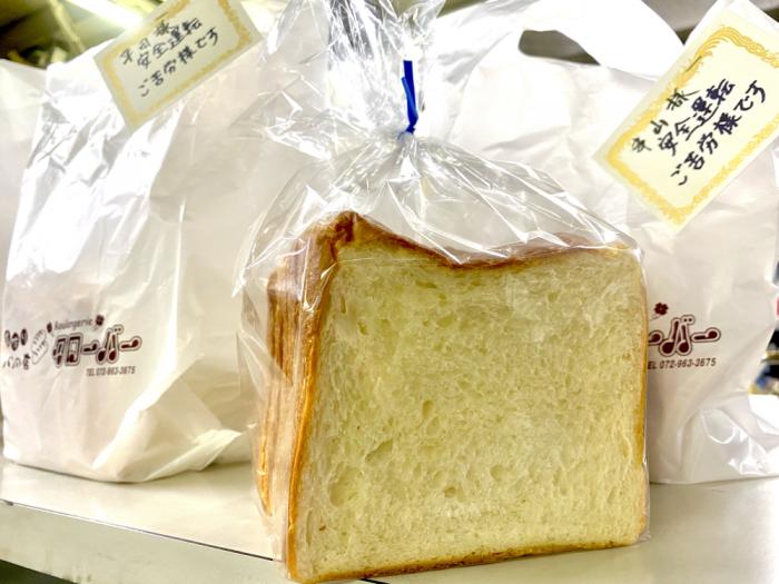 クローバーの食パン